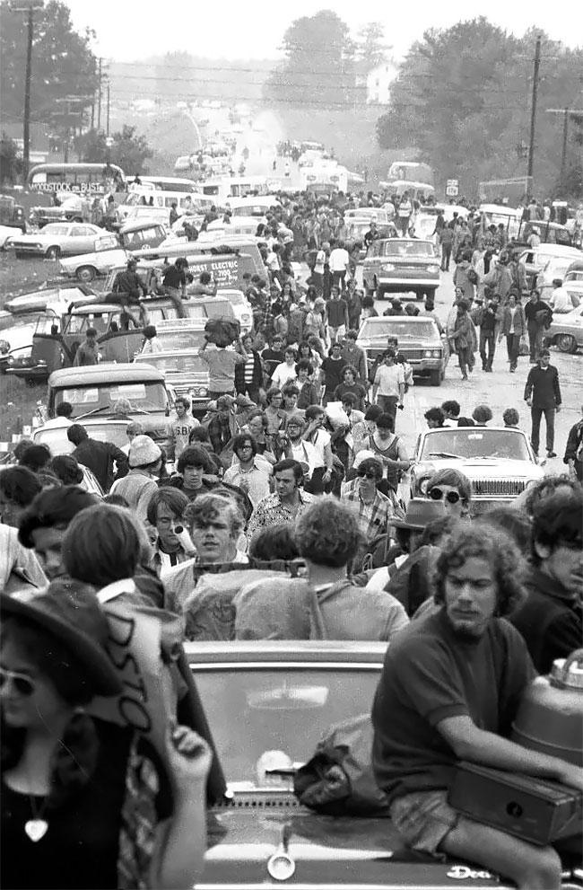 По дороге в Вудсток, 1969 год