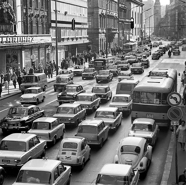 Будапешт, начало 1970-х годов