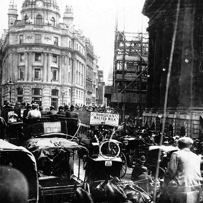 Площадь Пикадилли, Лондон, 1901 год