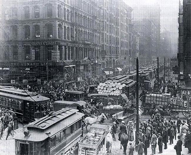 Чикаго, 1909 год