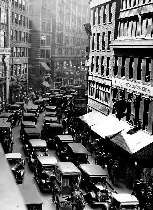 Бостон, 1929 год