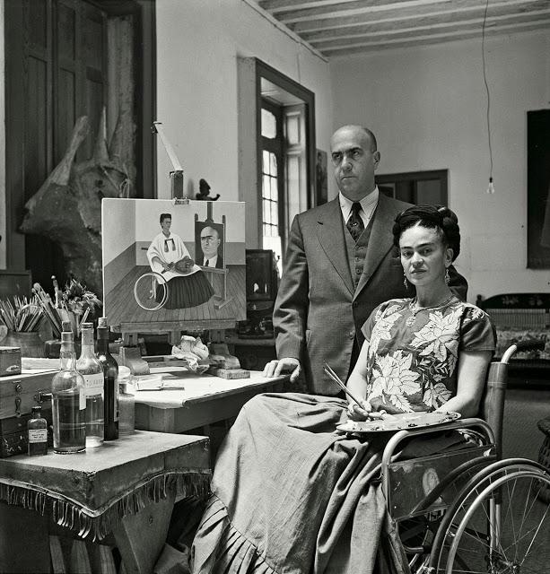 Фотографии восхитительной Фриды Кало, снятые в последние годы её жизни