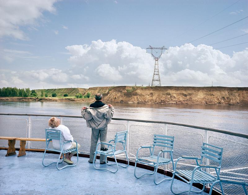 На борту корабля «Афанасий Никитин», река Волга