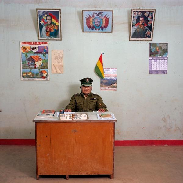 Сотрудник полиции, Боливия