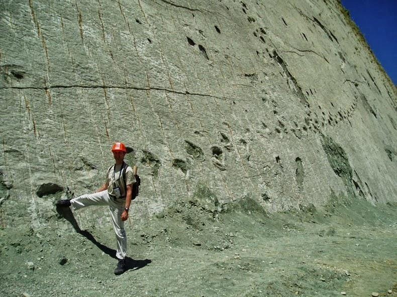 Скала динозавров или Кэл Орко - место с самым крупным в мире скоплением следов динозавров