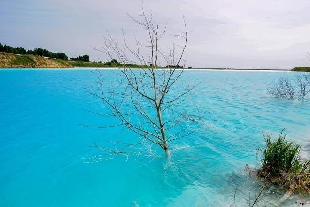 «Новосибирские Мальдивы» или бирюзовый золоотвал с отходами