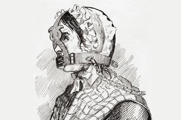 Как мужья Средневековья наказывали своих болтливых жён