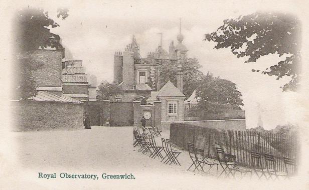 Гринвичская королевская обсерватория в 1902 году