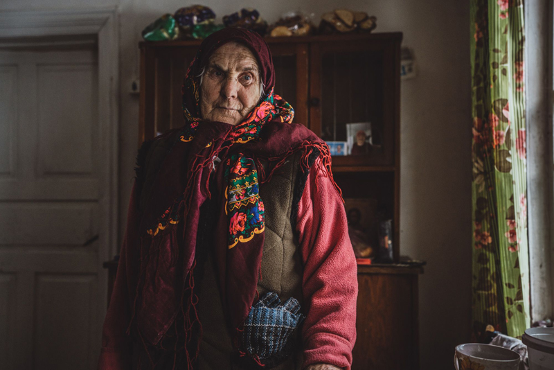 Бабушка Ганя