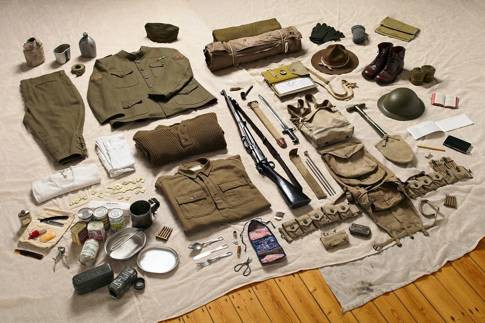 Амуниция американского пехотинца, 1917 год