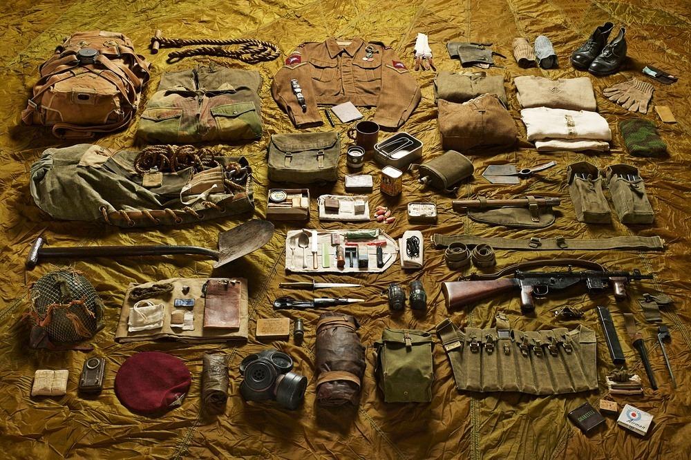 Амуниция парашютистов в битве за Арнем, 1944 год