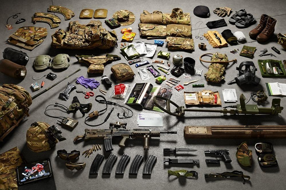 Амуниция сапера Королевских инженерных войск в Афганистане, 2014 год