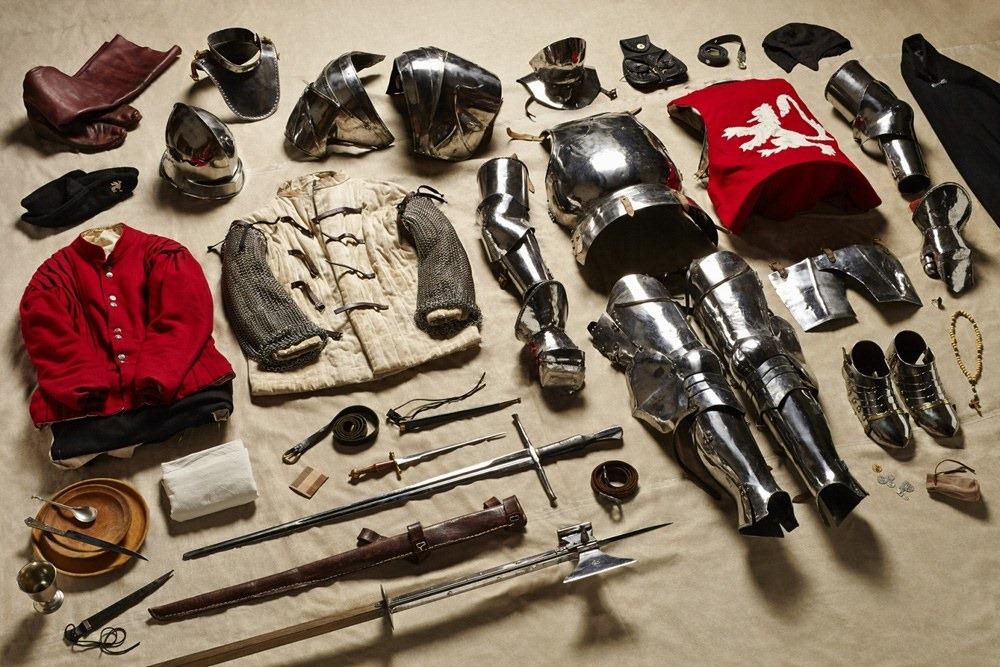Экипировка Йорка во время битвы при Босворте, 1485 год