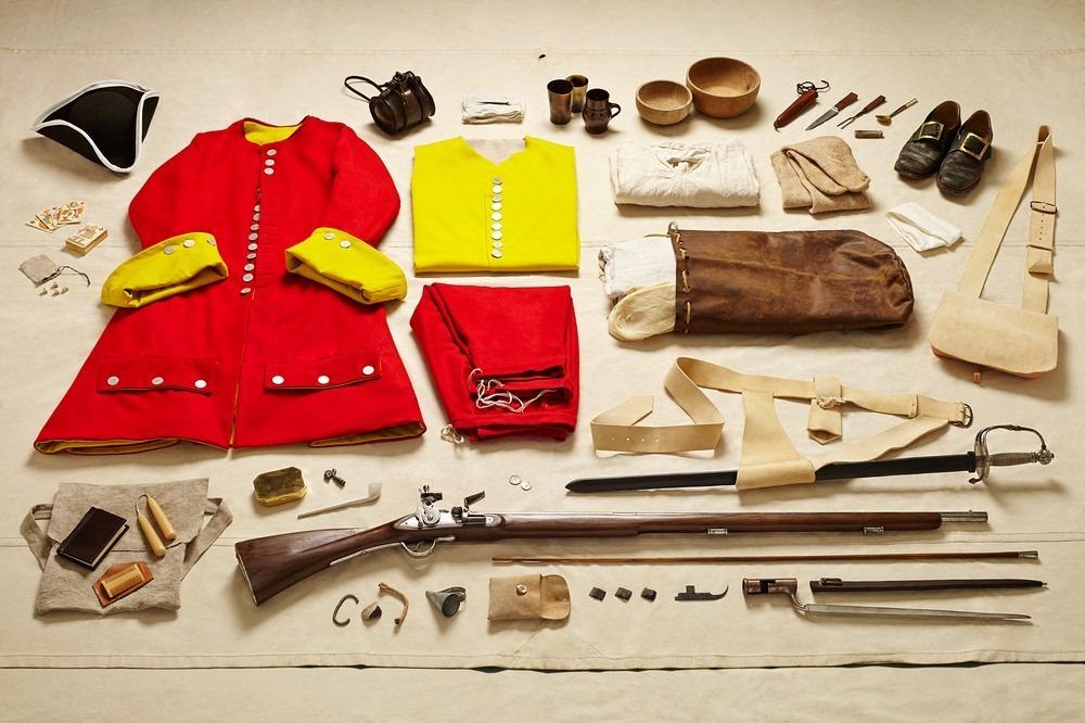 Амуниция стража в битве при Мальплаке, 1709 год