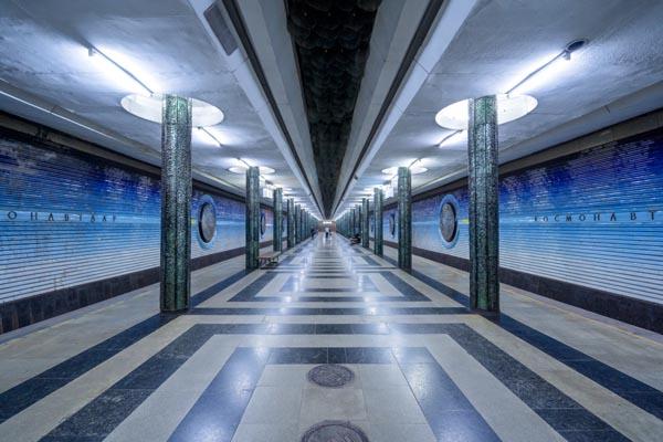 Редкий взгляд на богатство архитектурных форм советского метрополитена
