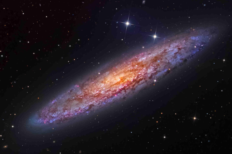 Высокая оценка в номинации «Галактики». Фотографы Bernard Miller и Martin Pugh