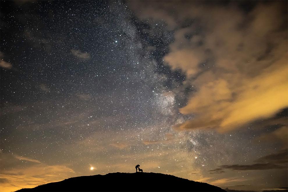 1-е место в номинации «Люди и космос». Фотограф Ben Bush