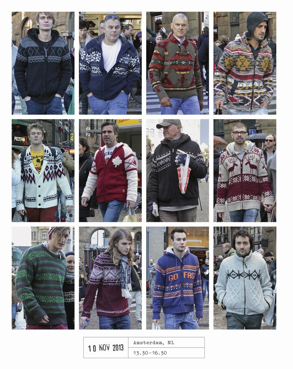 Фотограф 20 лет фотографировал прохожих и показал, что все мы одеваемся одинаково