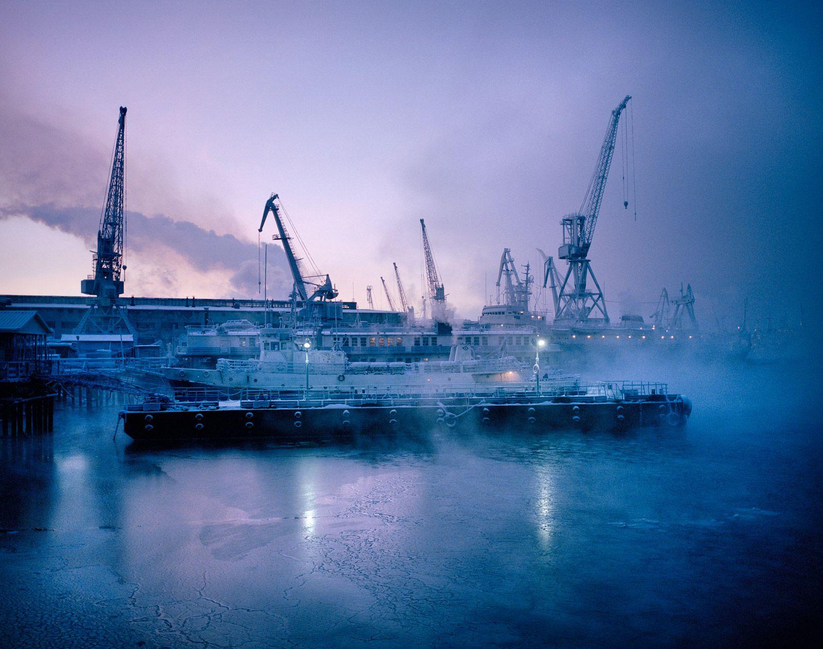 Российские полярные ночи в объективе Саймона Робертса