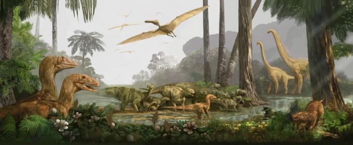 Мел-палеогеновое вымирание, около 66 млн лет назад