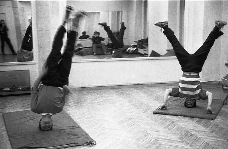 Уроки в танцевальной студии, 1988 год