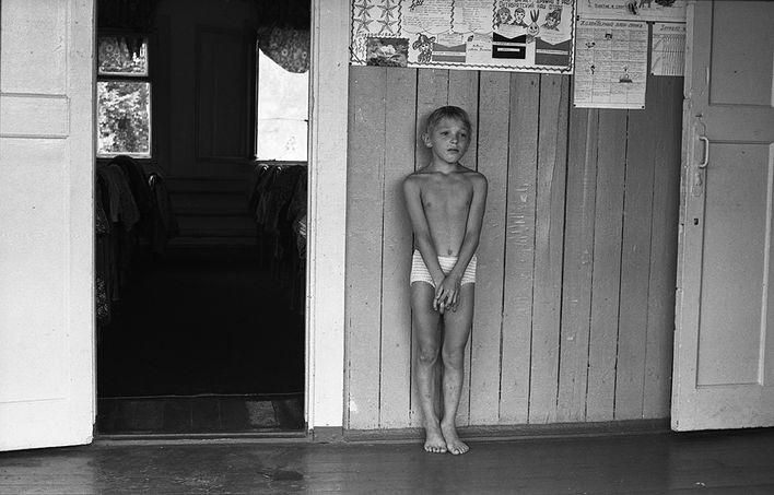 «Тихий час» в спортивном лагере «Металлург», 1979 год