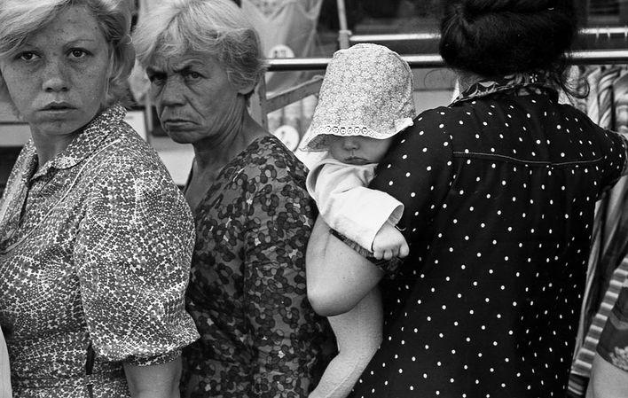 Люди в очереди, 1982 год