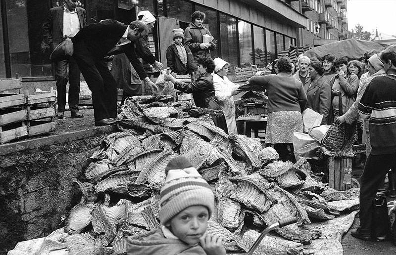 Продажа бараньих рёбер, 1988 год