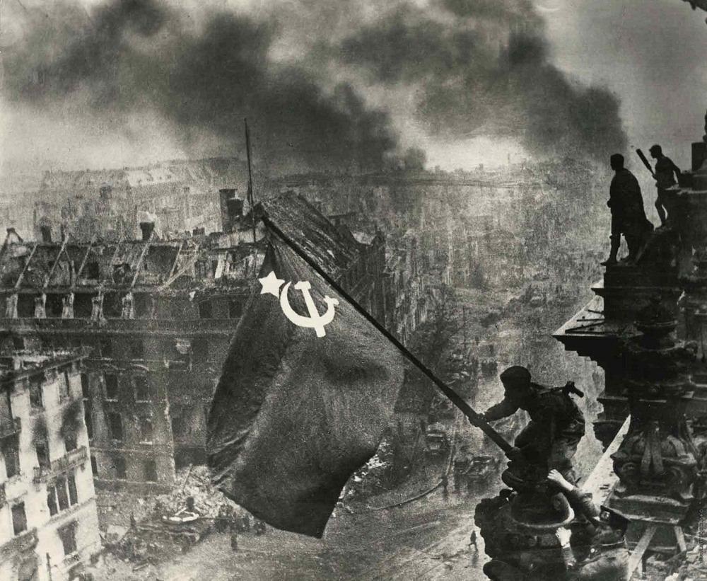 История знаменитого снимка «Знамя Победы над рейхстагом»