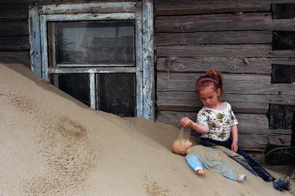 Шойна: погребённая в песках деревня на севере России