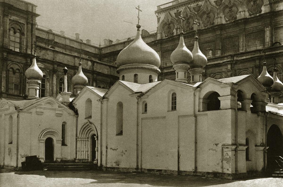 Собор Спаса на Бору, снесённый в 1933 году
