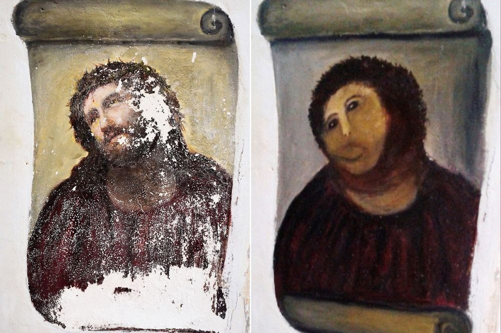 Ecce Homo: испорченная фреска, которая спасла город