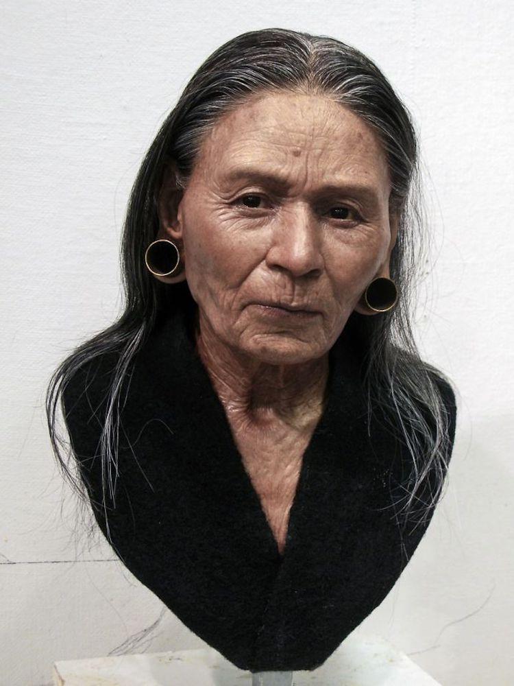 Портрет богатой дворянки, жившей 1200 лет назад в Перу