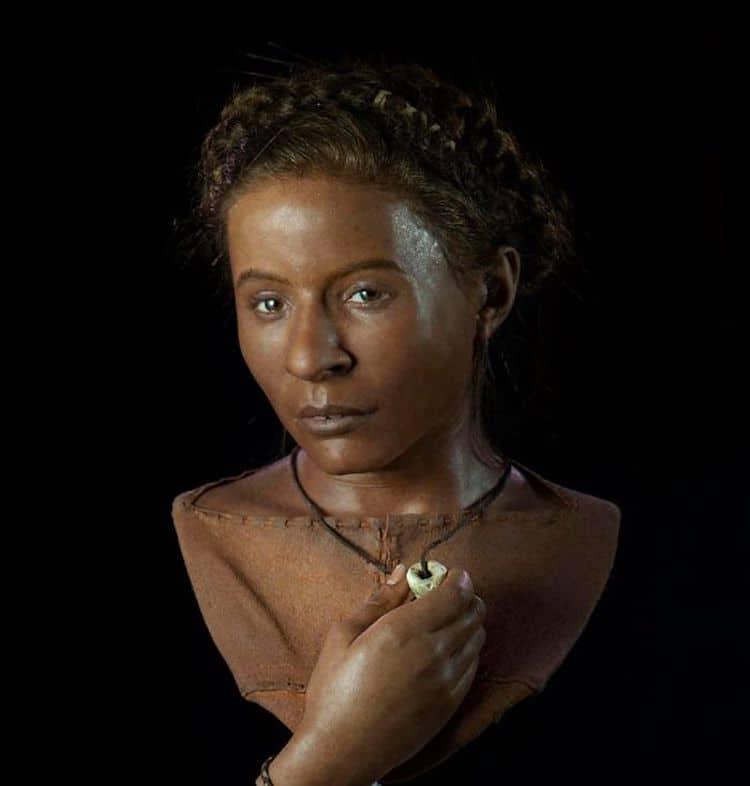 Женщина, жившая примерно в 3 500 г. до н.э.