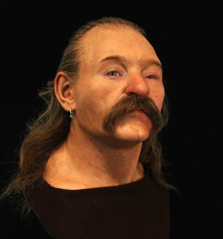 Мужчина англосаксонского периода