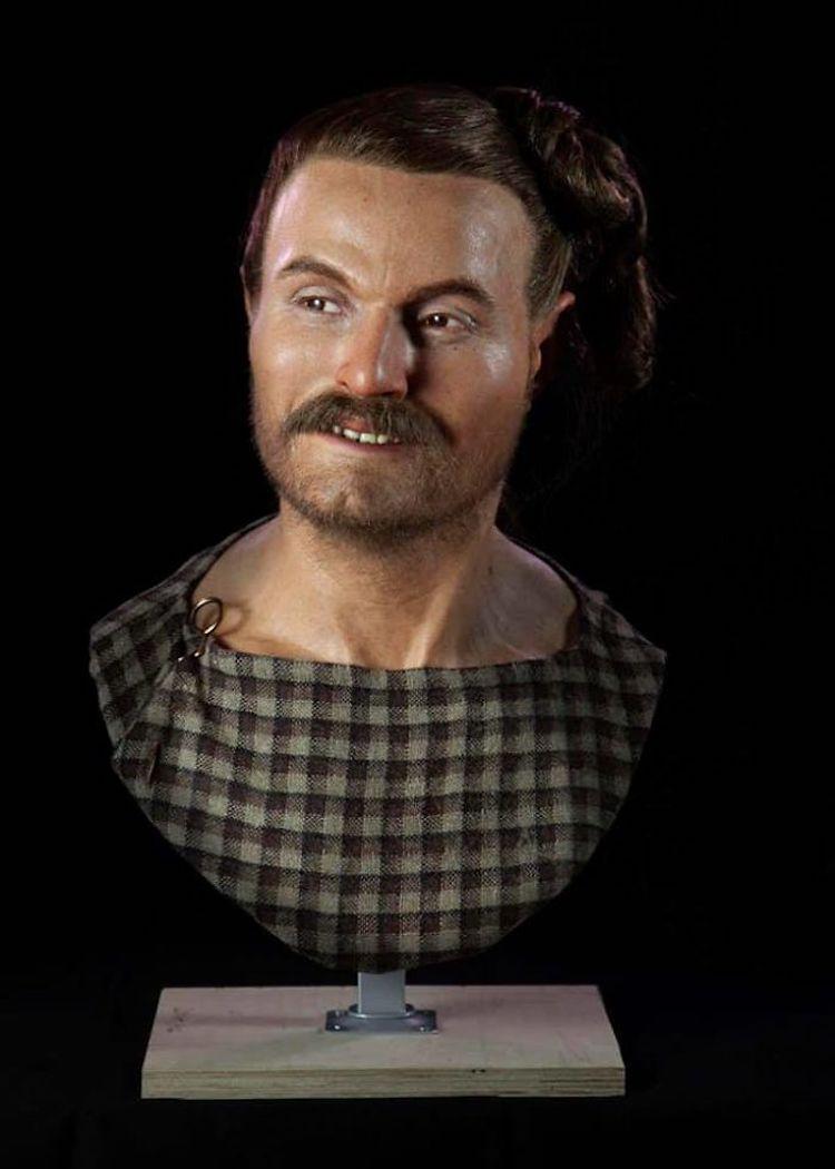 Мужчина, живший примерно в 250 г. до н.э.