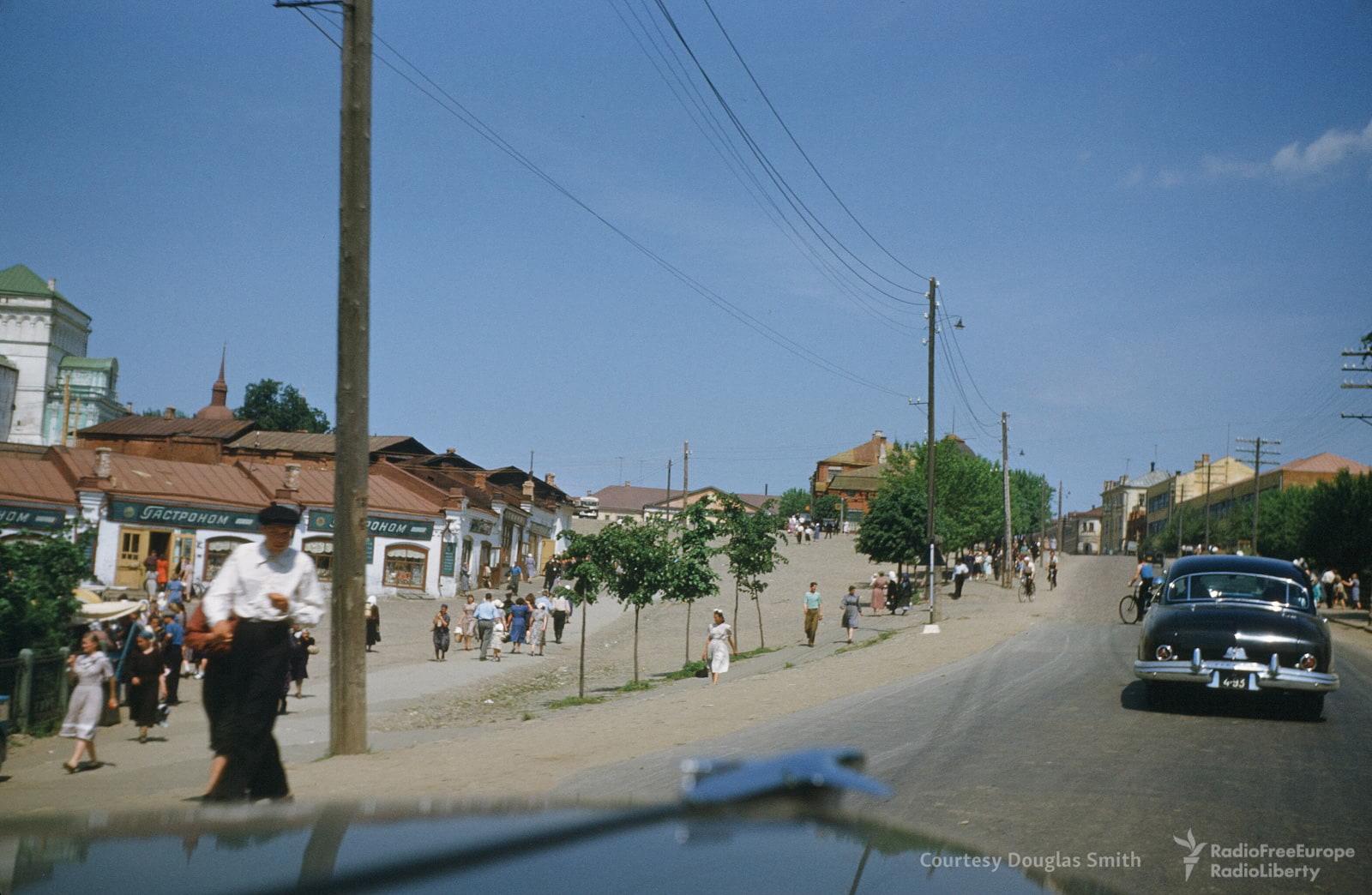 Проспект Красной Армии в Загорске (Сергиев-Посад)