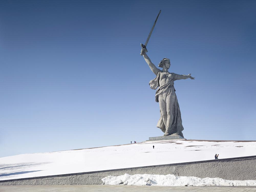 Пейзажи, окружающие самые большие статуи в мире