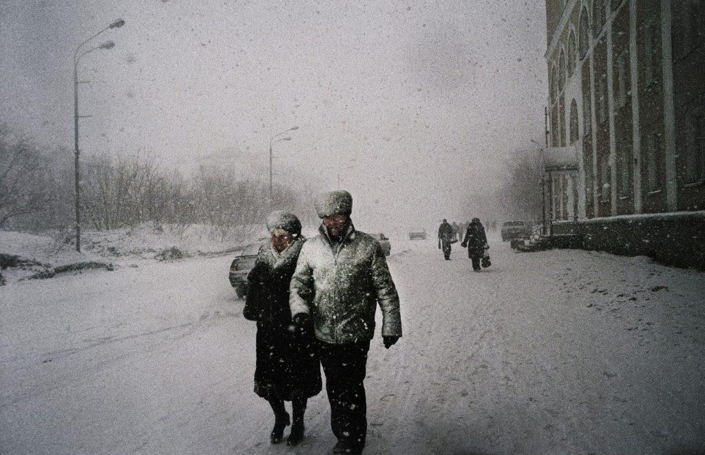 Проспект Ленина, Воркута. На 6-километровом проспекте сосредоточены все городские развлечения