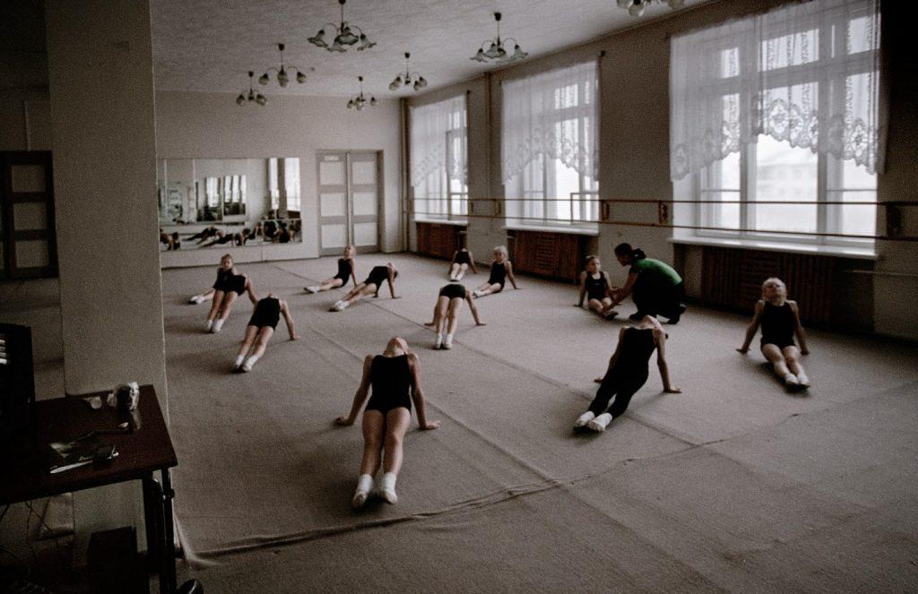 Танцевальный кружок в Дворце культуры
