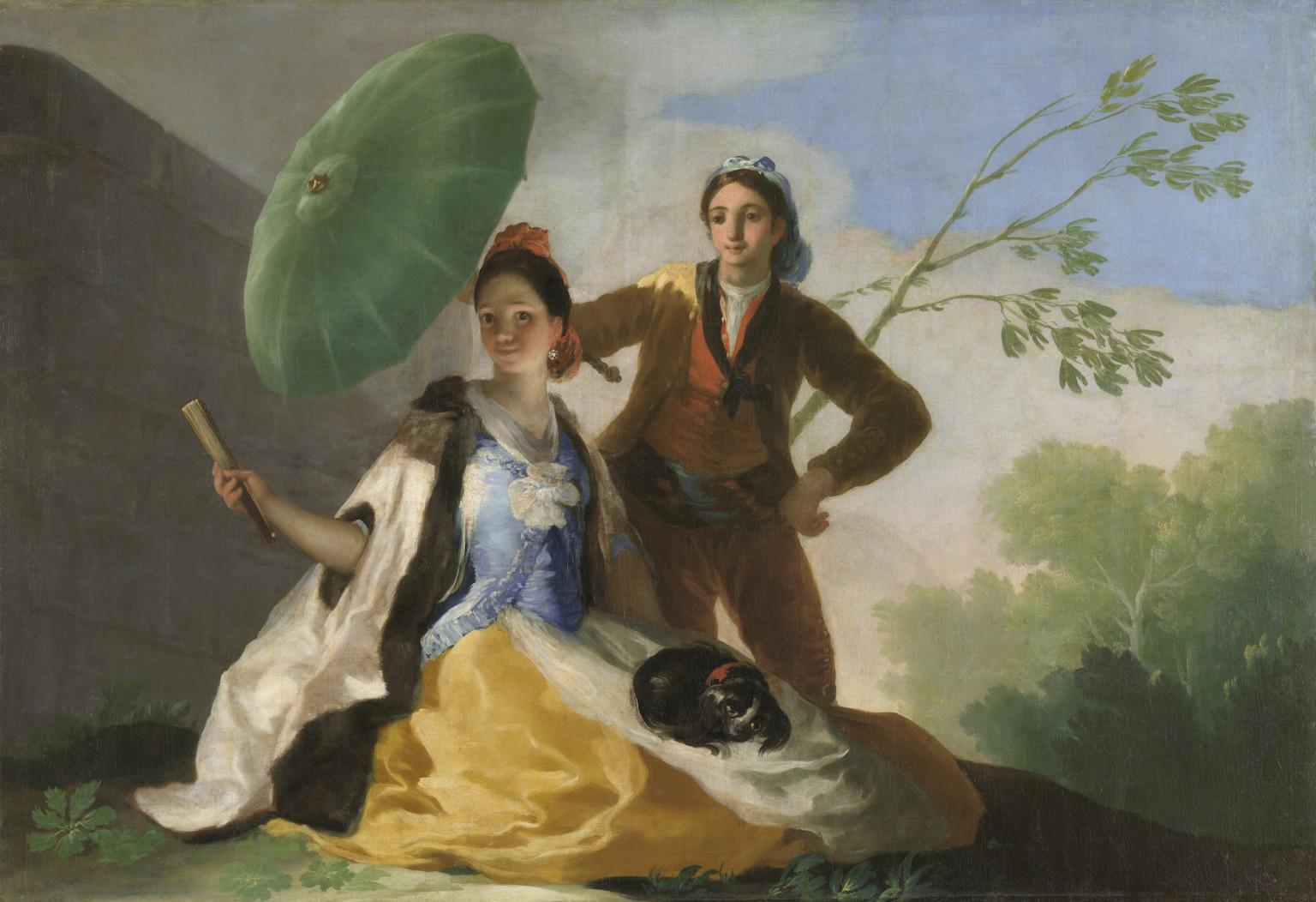 Франсиско Гойя, «Зонтик»