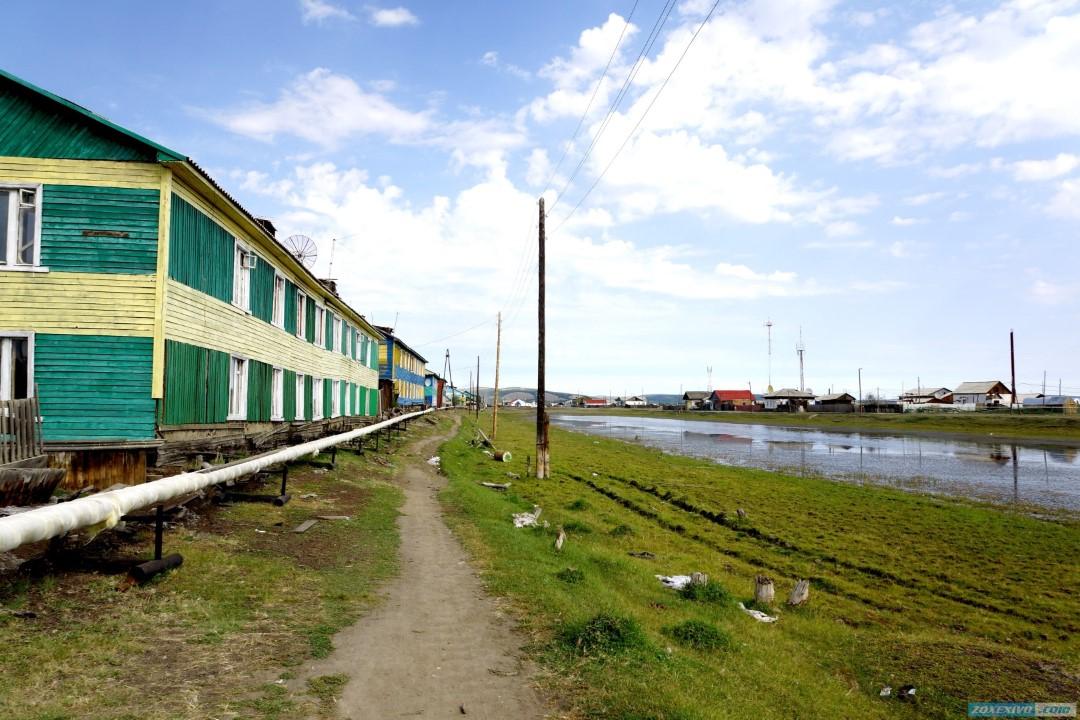 Верхоянск - самый холодный и самый маленький город России