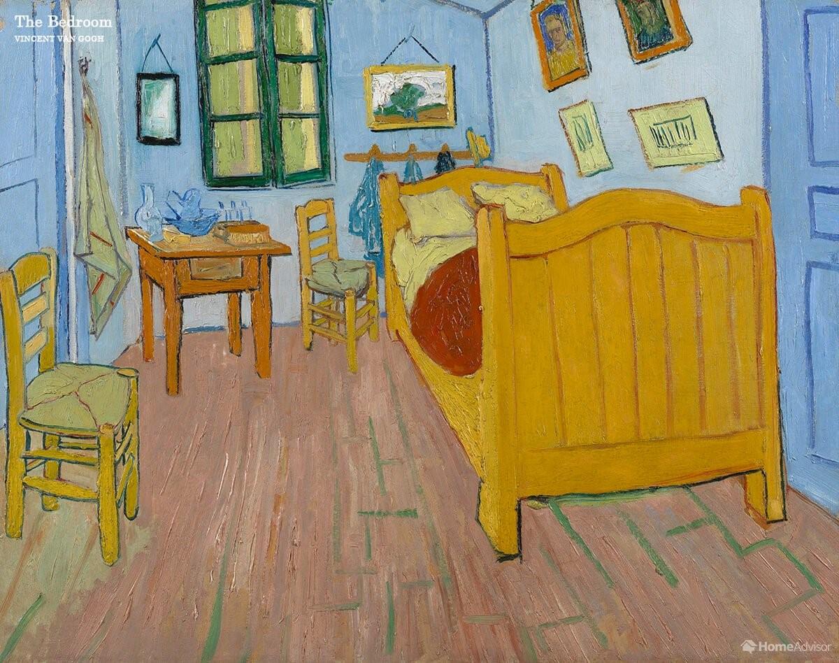 «Спальня», Винсент Ван Гог