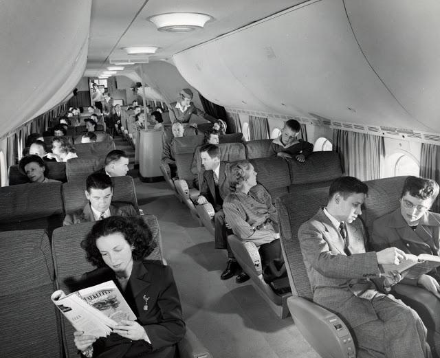 Просторные и удобные сидения Stratocruiser