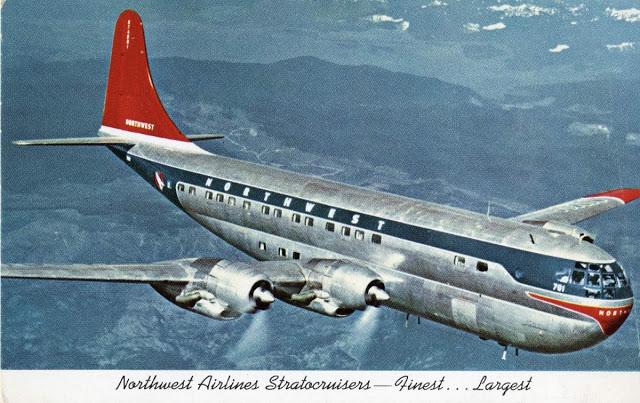 Двухпалубный Boeing 377 Stratocruiser