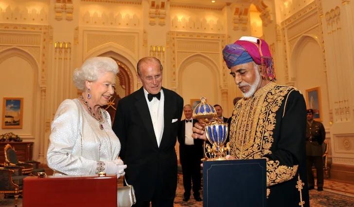 Королева Елизавета и яйцо Фаберже