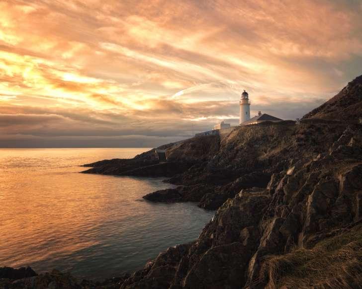 Восход солнца на острове Мэн