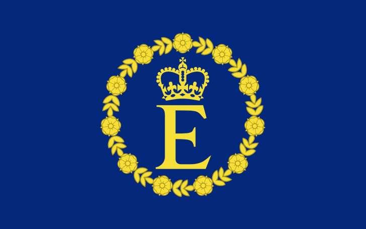 Личный флаг королевы Елизаветы