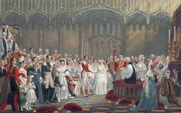 Свадьба королевы Виктории