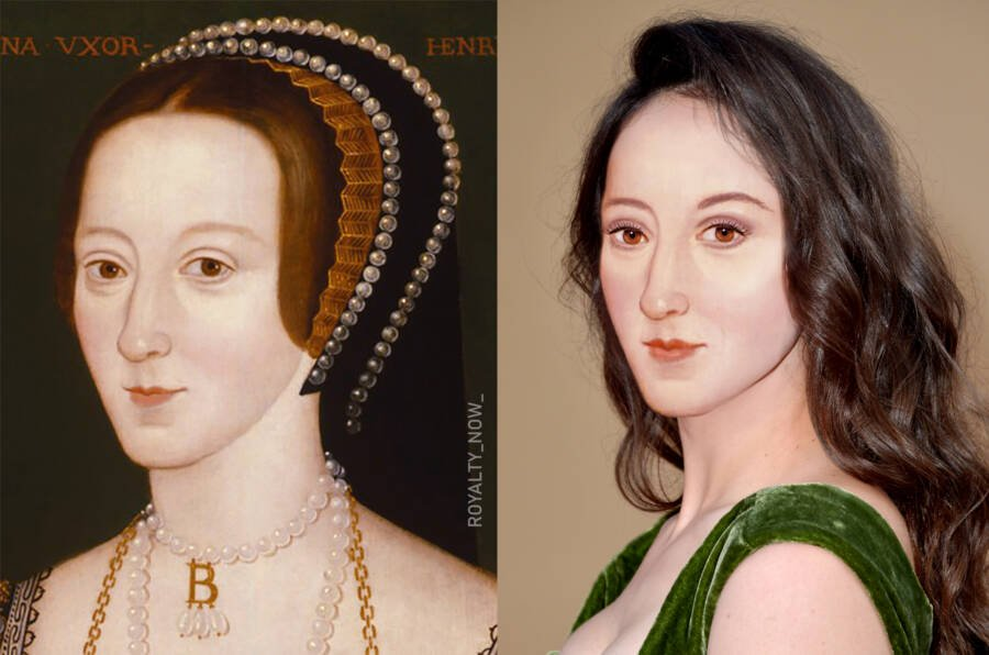 Анна Болейн - вторая супруга короля Англии Генриха VIII Тюдора